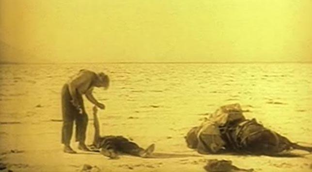Greed (1925) final scene