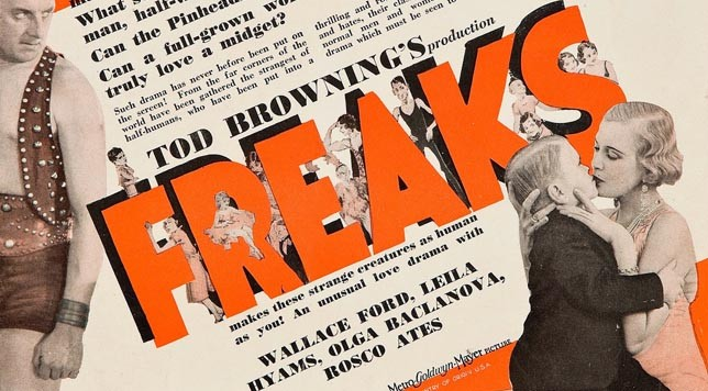 Freaks (1932). Detail from movie poster.