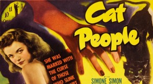 Cat People featured image. Detail from original movie poster.