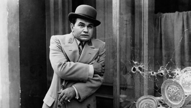 Image result for little ceasar death edward g. robinson