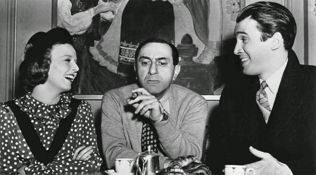 Ernst Lubitsch, James Stewart, and Margaret Sullivan (1940)